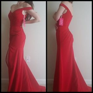 Jovani red dress 00